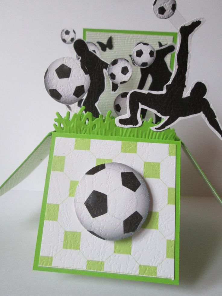 1000 id es propos de cartes de football sur pinterest - Decoration football pour anniversaire ...