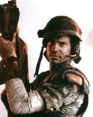 Bill Paxton - great in Aliens & Predator 2