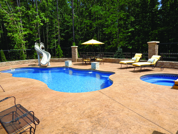 105 best freeform style fiberglass swimming pools images for Pool design northern virginia