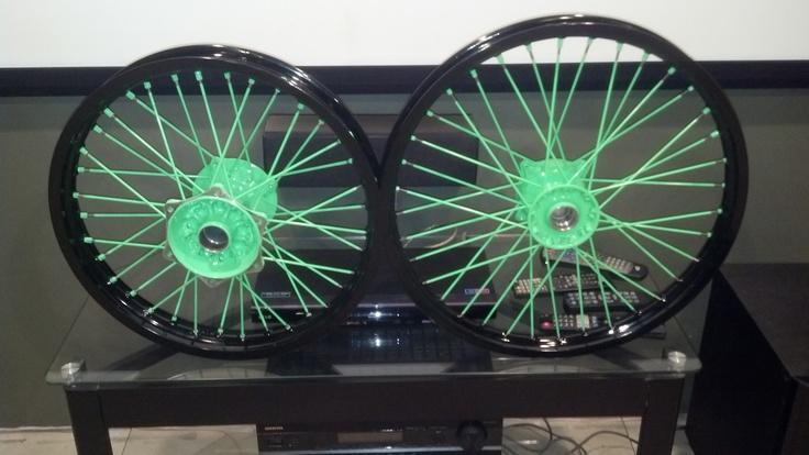 #Neon Green #Kawasaki #338