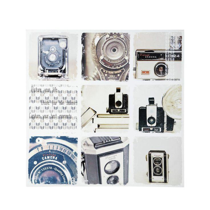 Toile appareil photo vintage Shooting