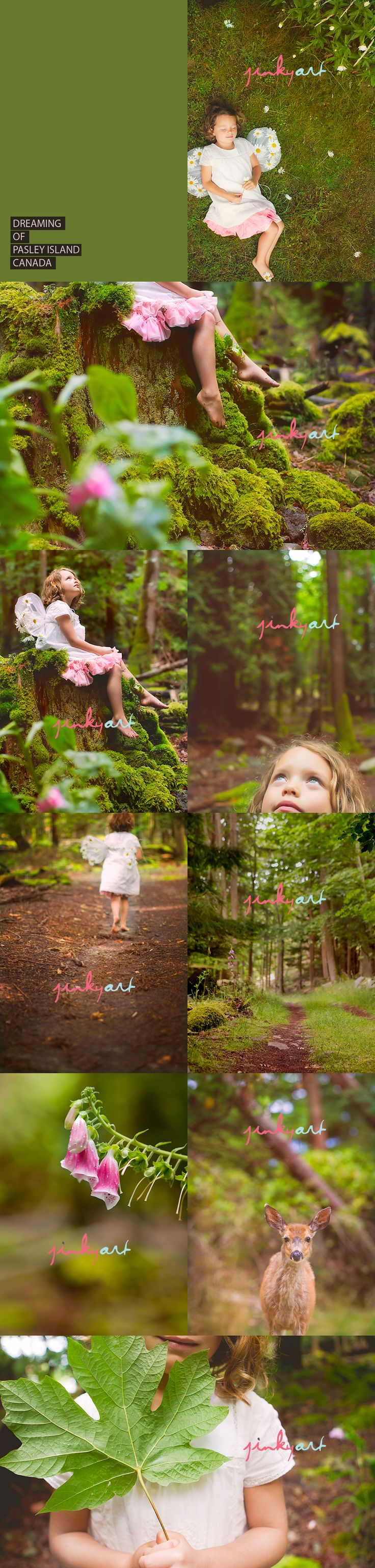 Can't wait for spring to do a forest fairy photo shoot with the girls
