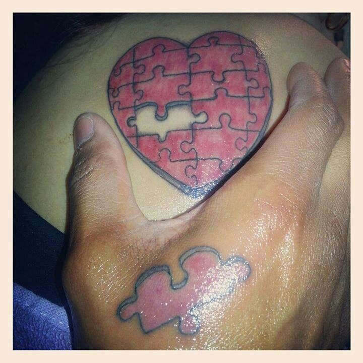 Cute couple tattoo tattoo ideas pinterest couple for Cute couples tattoos