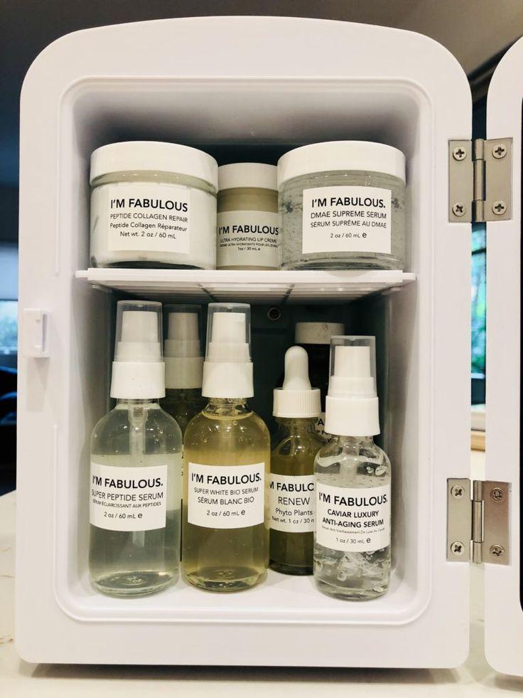 Cosmetics mini fridge mini fridge organic skin care im