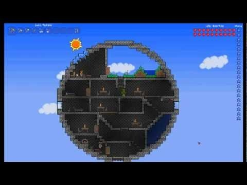 Terraria House Space Station