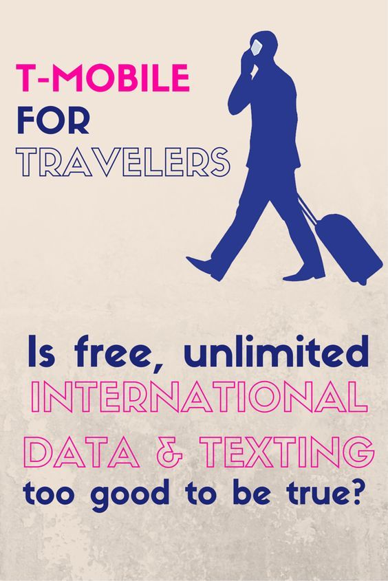 Free international data and texting - is it too good to be true?  Find out why TMobile phone plans are great for travelers as long as you can outsmart T Mobile :)  Perfect for international calling apps and cheap international calls.