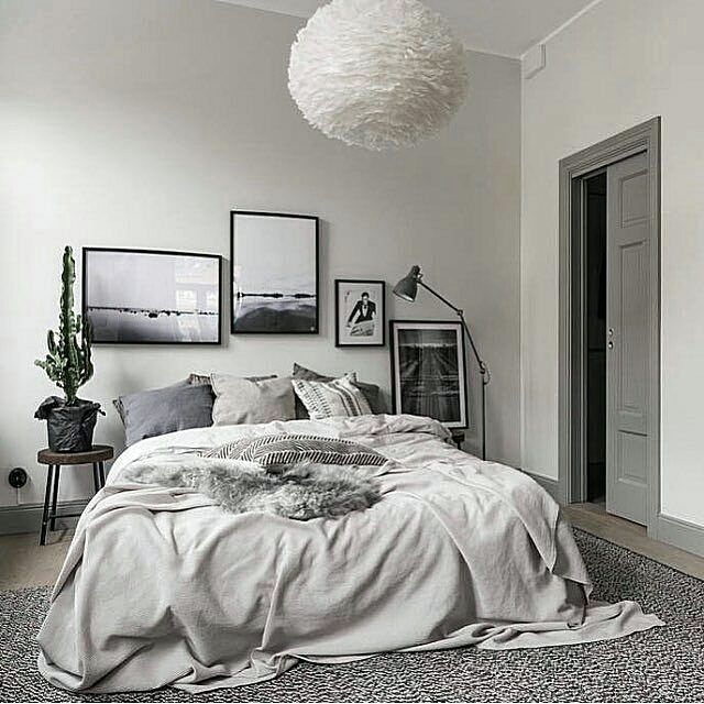 Dark Bedroom Scandinavian: 108 Best Dekorasi Kamar Tidur Images On Pinterest