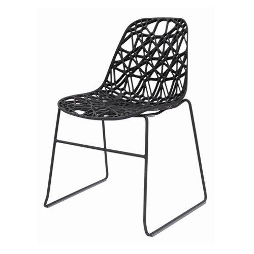 De Nett Chair is gemaakt van met glasvezel versterkt