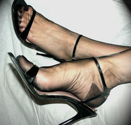 High heels hose