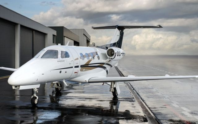 A lovely Embraer Phenom 100.
