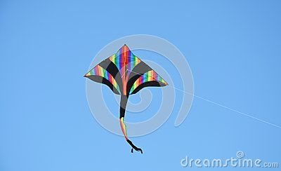 Colorful Kite On The Sky - Download From Over 40 Million High Quality Stock Photos, Images, Vectors. Sign up for FREE today. Image: 59677568