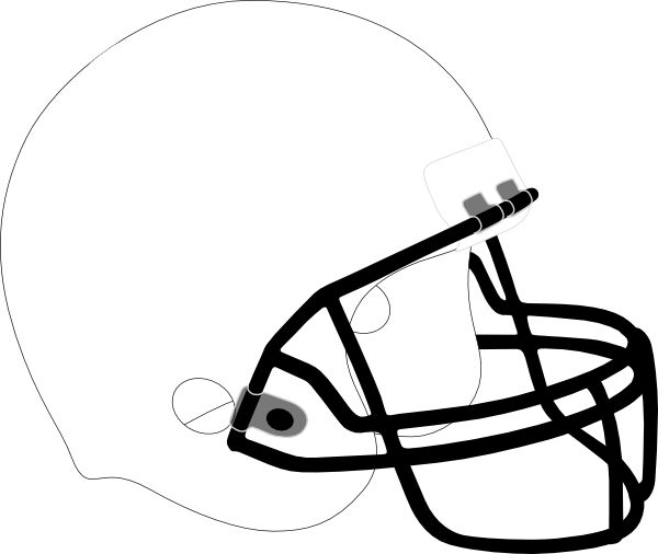 football helmet coloring pages blank