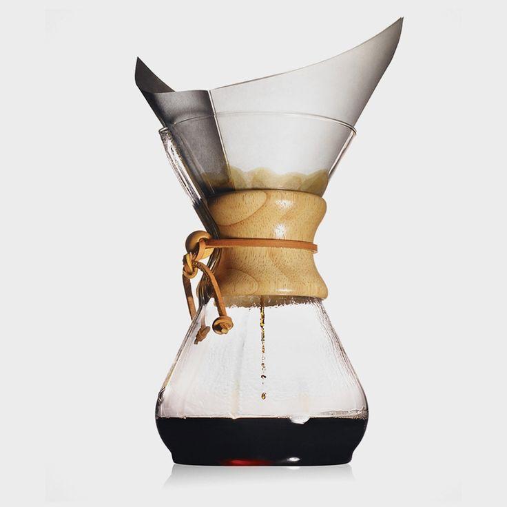 "crema-85106 Crema Kaffebrenneri AS Chemex Classic 6 kopper ""Manuell kaffetrakter i verdensklasse"""