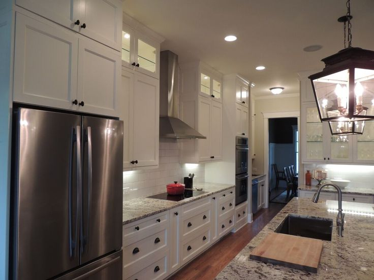 Cooper Homes | Interior | Craftsman | Atlanta Builder | White Kitchen | To see available homes visit our Current Projects page on our website