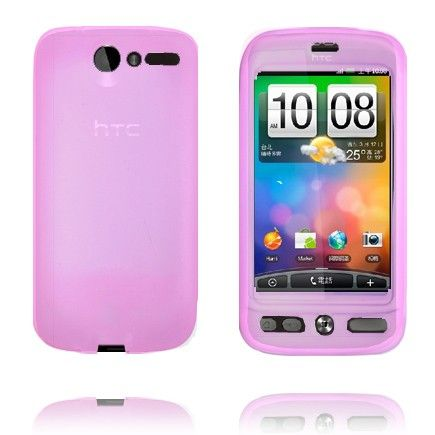 Soft Shell (Lyse Rosa) HTC Desire G7 Deksel