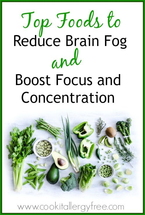 how to clear brain fog while studying