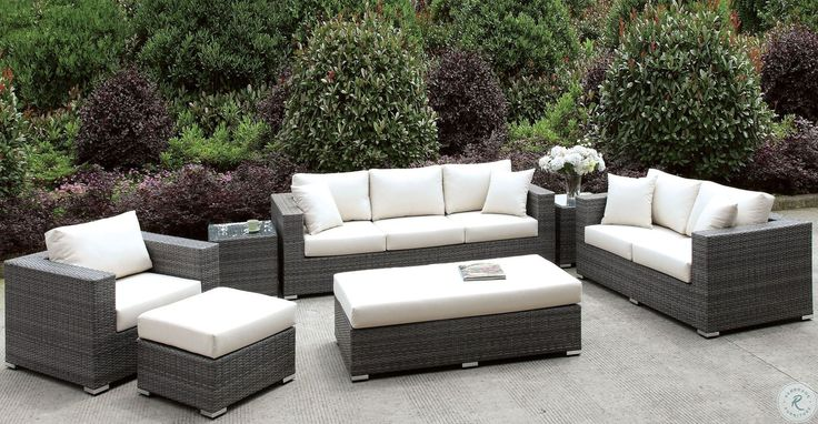 Beachcroft Beige Outdoor Sofa with Cushion in 2020 ... on Beachcroft Beige Outdoor Living Room Set  id=89339