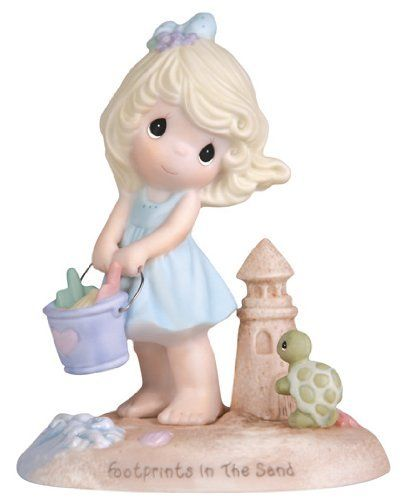 "Precious Moments ""Footprints In The Sand"" Figurine, Girl by Precious Moments, http://www.amazon.com/dp/B00462QYIA/ref=cm_sw_r_pi_dp_osdfsb05EBHP7"
