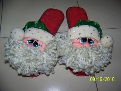 babuchas navideñas moldes - Buscar con Google