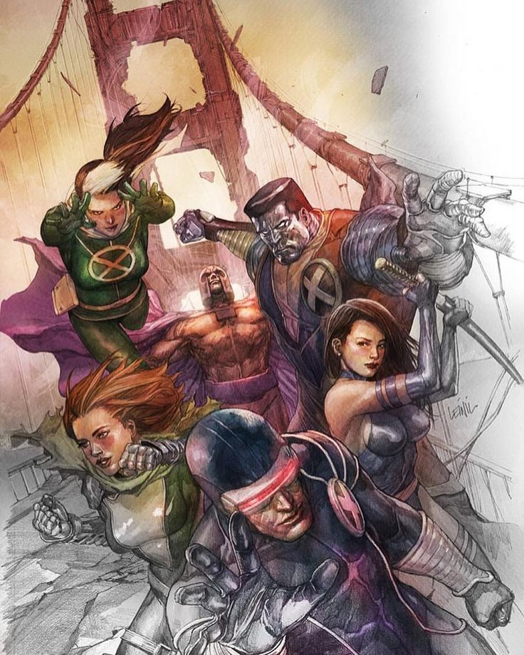 X Men by Leinil Francis Yu