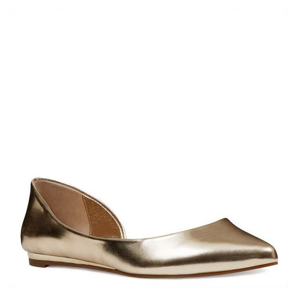 Metalic Flats Shoes