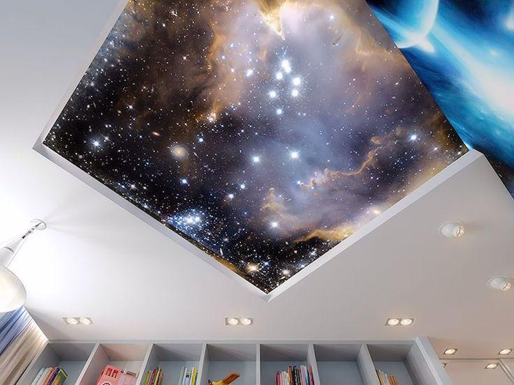 годы звездное небо фотопечать натяжные потолки каталог это