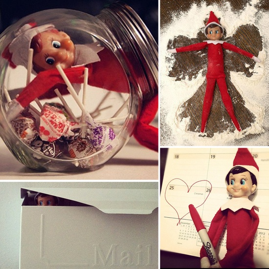 Straight From the North Pole: 26 Places to Put Your Elf on the Shelf