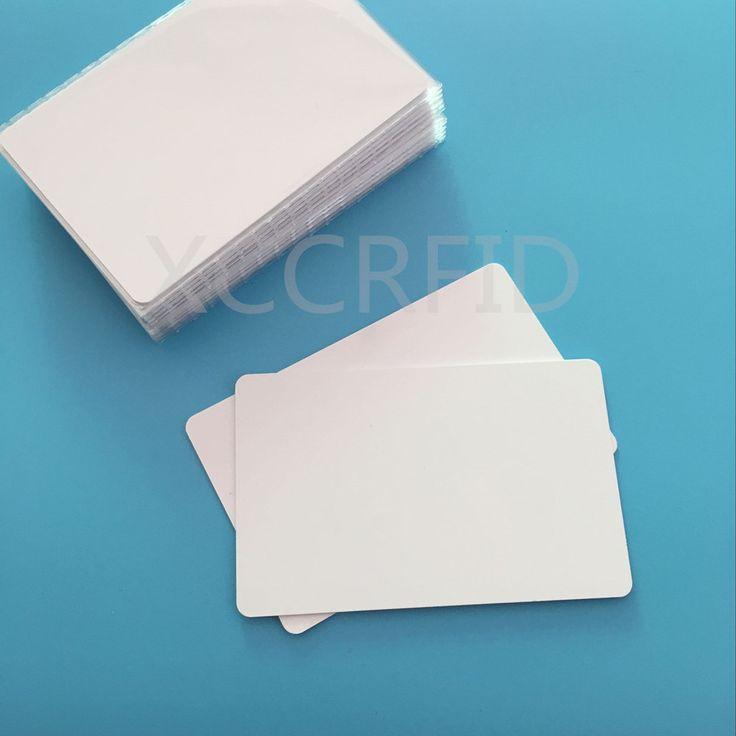 50 ШТ. Ntag215 Пустой Струйный Для Печати NFC Карты 540 байт Совместимость с Amiibos Для E pson C anon Принтер Печати