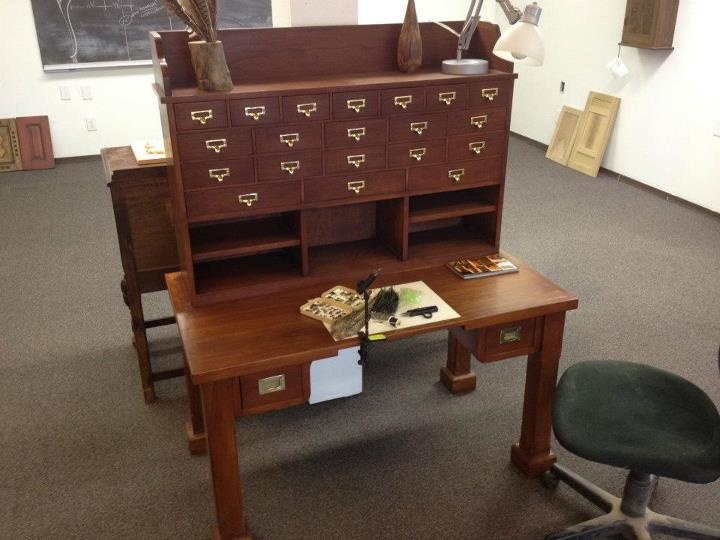 Fly-Tying/Craft Bench - FOR SALE   Colorado Woodworkers   Pinterest   For sale, Benches and ...