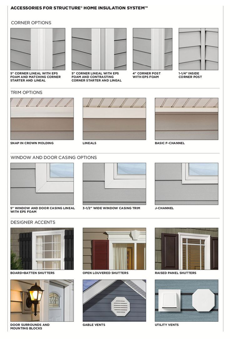 Window trim exterior vinyl - This Is The Exterior Solution R No Other Brand Offers Vinyl Siding