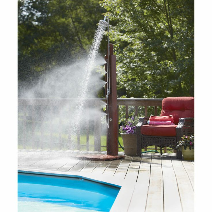 portable outdoor shower 2811s193