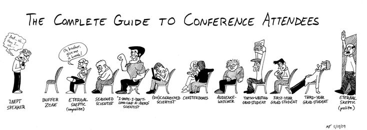 pictures of cartoons listening to a seminar - Google Search
