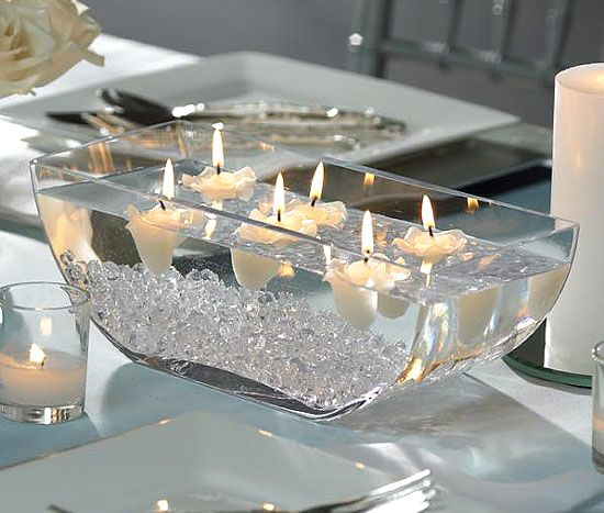 Easy Floating Candle Centerpieces: 29 Best Wedding Centerpiece 2014 Images On Pinterest