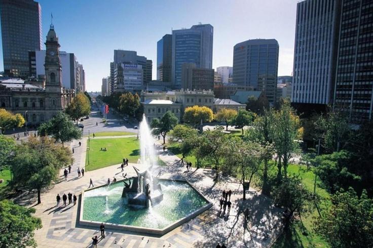 Adelaide City - Australia  مدينة أديلايد- أستراليا