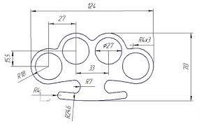 Resultado de imagem para template knuckle dusters.