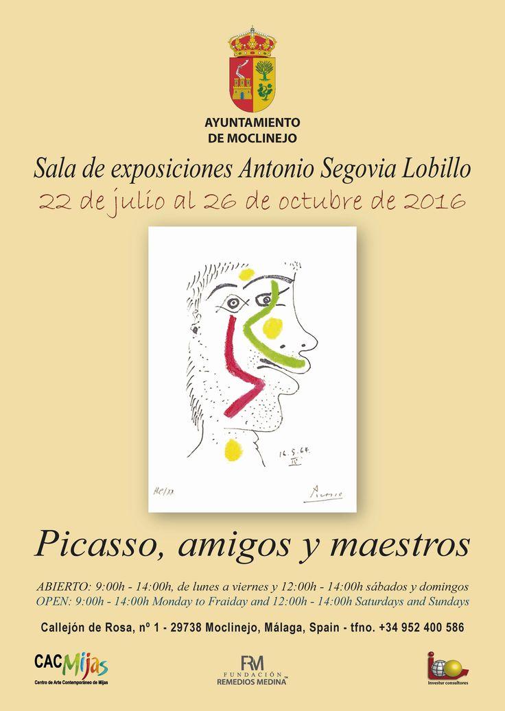 """AYUNTAMIENTO DE MOCLINEJO """"Picasso, amigos y maestros"""""""
