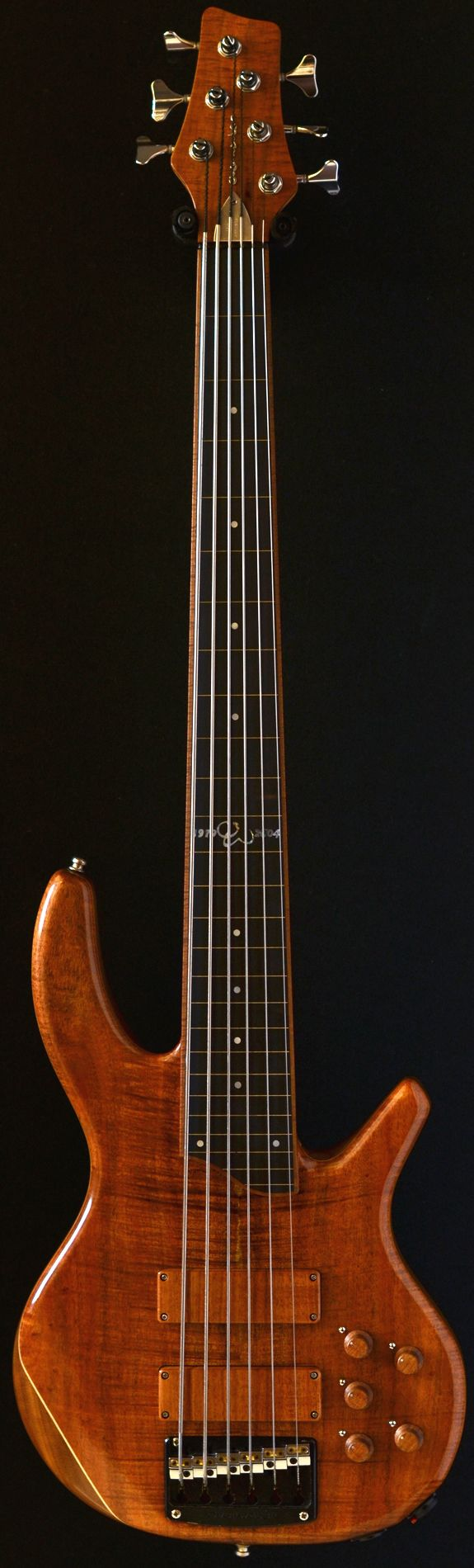 OVERWATER Progress III 6 fretless (via Bass Direct).Love fretless, remainds me how his daddy was.