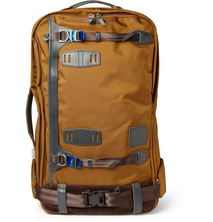 Master-PiecePotential Leather-Trimmed Cordura Backpack|MR PORTER