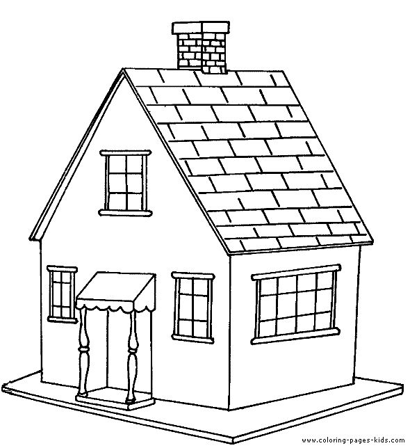 house color page family people jobs coloring pages color plate coloring sheet - House Coloring Pages Toddlers