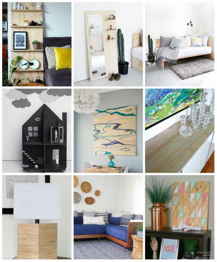 18 Plywood DIY Ideas