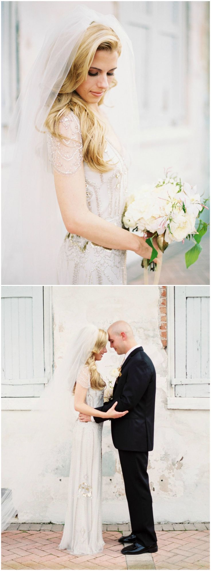 54 best 1920s wedding inspiration images on pinterest 1920s beaded wedding dress shift art deco inspiration long veil caplet sleeves ombrellifo Image collections