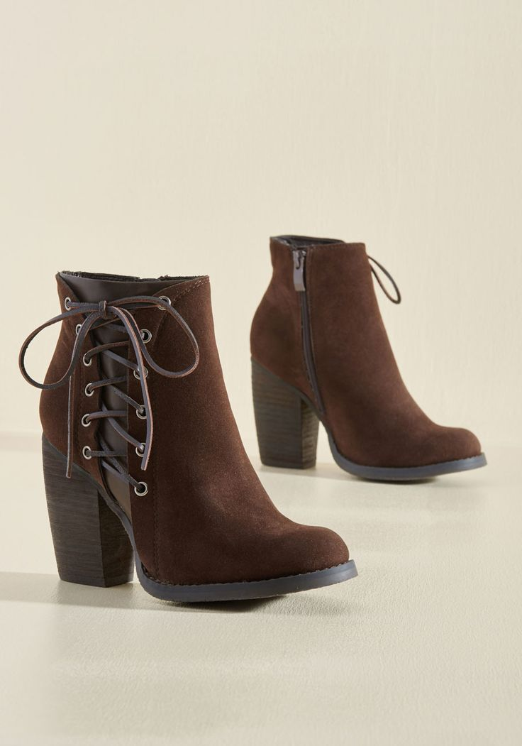 Oh, the Laces You'll Go Bootie