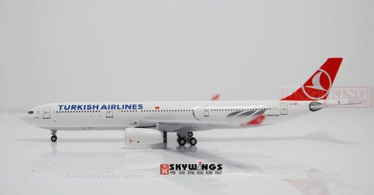99.75$  Buy here - http://alifqx.worldwells.pw/go.php?t=32598235242 - Aeroclassics Turkey Airlines TC-JNH 1:400 A330-300 commercial jetliners plane model hobby