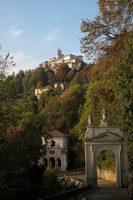 Sacro Monte Varese, province of Varese Lombardy