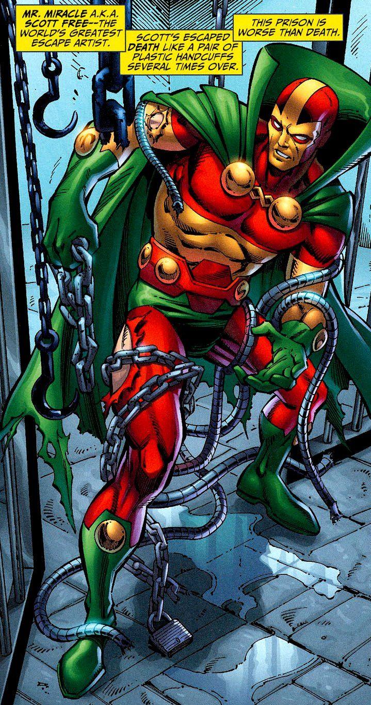 Image result for Mr. Miracle dc | DC Heros | Comics, Big ...
