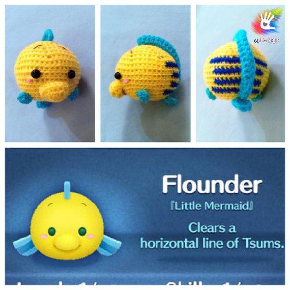 Tsum Tsum Flounder Pattern