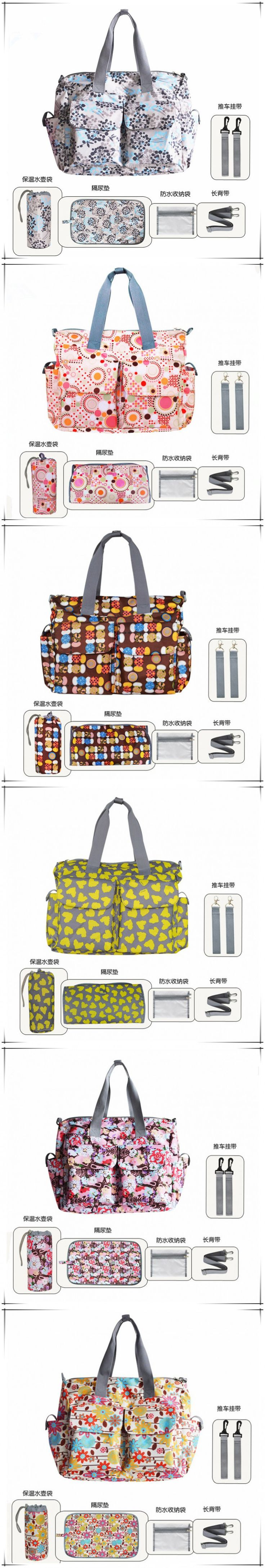 Fast Delivery Fashion Mummy Bag Hanbags Shoulder Bag Larger Capacity 40*34*16CM Zipper Dipper Bag 10 Colors Babies Care Product
