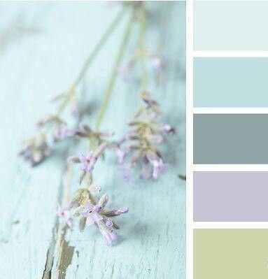 Flower color palette