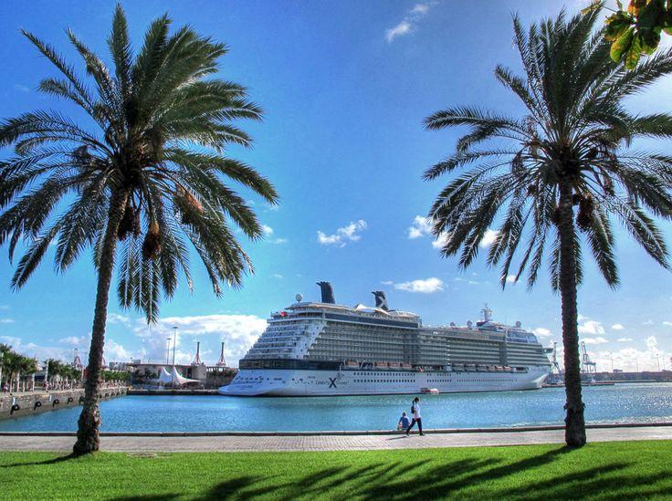 Crucero Celebrity Eclipse en Las Palmas de Gran Canaria