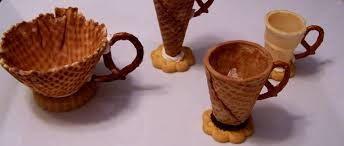 Crea tus tazas de té comestibles así de fácil +info http://www.iloveteacompany.com/2013/08/crea-tazas-de-te-comestibles.html